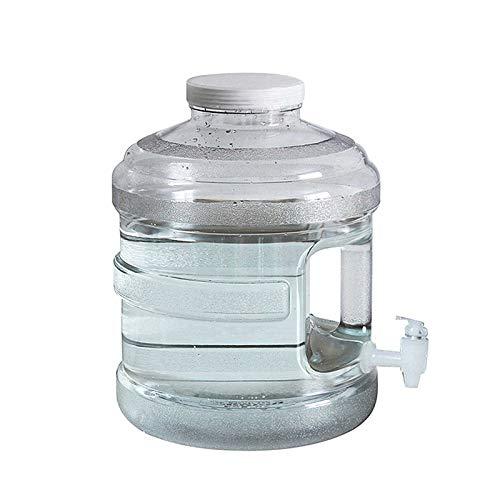 Gnohnay 10L Portador Agua con Grifo y Asa, Cubo Agua Potable Portátil, Tanque Transporte del Grifo para Camping, Picnic, Barbacoa, Tour de Conducción Autónoma