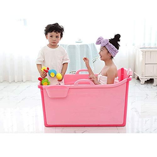 Lyfsxjzqr Große klappbare Badewanne Babysitting Badewanne Badewanne Faltbarer Badeeimer (Size : Small)