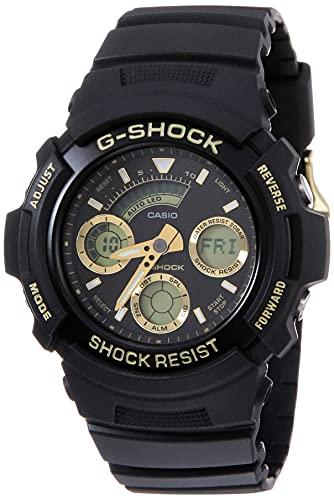 Casio G-Shock Analog-Digital Black Dial Men's Watch - G776 (AW-591GBX-1A9DR)