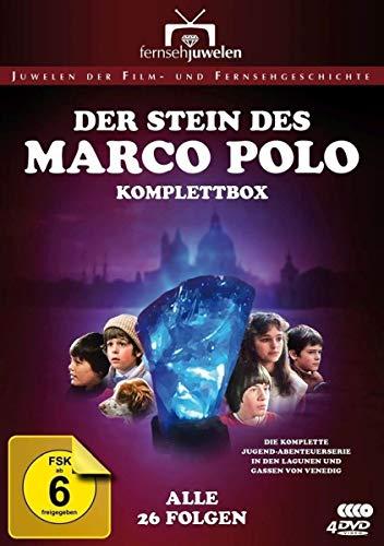 Der Stein Des Marco Polo (4 Dvd) [Edizione: Germania] [ITA]