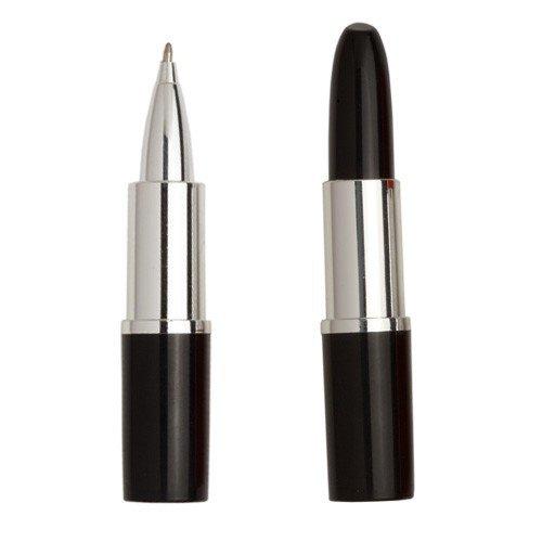 DISOK - Lote 10 Bolígrafos Pintalabios Negro