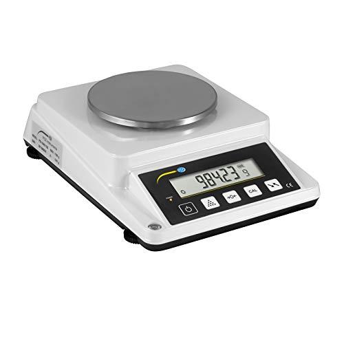 PCE Instruments Balanza digital para papel, cuentapiezas (Rango: 0 ... 1100 g, Resolución: 0,01 g / 1 g/m² , Reproducibilidad: ± 0,02 g, Linealidad: ± 0,03 g) PCE-DMS 1100