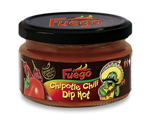 Fuego Chipotle Chili Dip, 4er Pack (4 x 224 g)