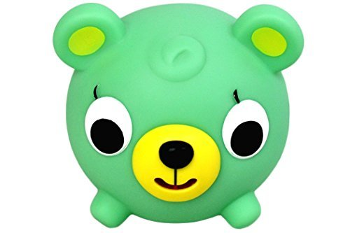 Jabber Ball Oshaberi Doubutsu Hablar Bola Borukuma Animal Stress Ball - Verde Bear