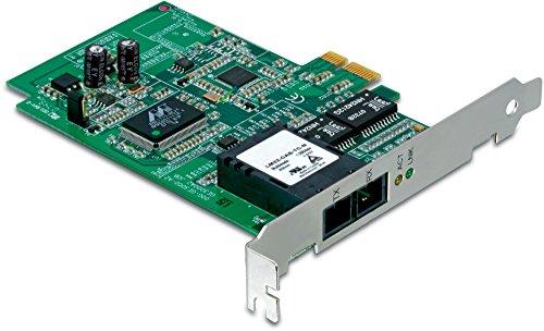 TRENDnet SC-Type Fiber PCIe Adapter, Macht aus einem PCIe-Slot einen Mehrfach-Modus SC-Typ-Glasfaser-Slot, Unterstützt VLAN Tagging & Layer 2 Priority Tagging, TEG-ECSX