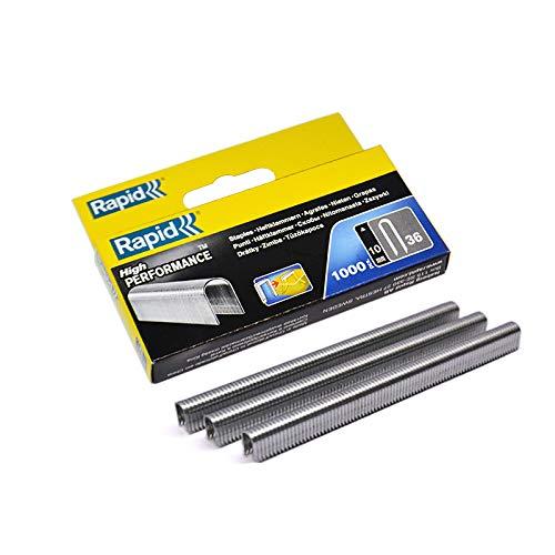 Agrafeuse R36-Boîte de 1000 agrafes pour câble 10 mm ()