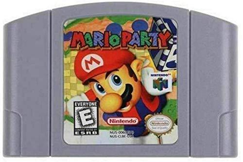 NINNAYUAN Game Cartridge Card for Nintendo 64 Mario Party US Version