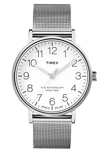 Timex Reloj Analógico para Hombre de Cuarzo con Correa en Acero Inoxidable TW2R25800