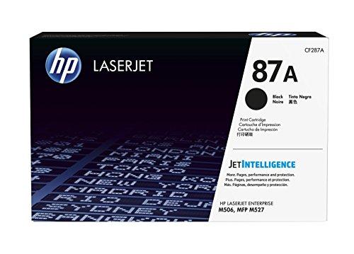 HP 87A (CF287A) Schwarz Original Toner für HP Laserjet Enterprise M506, HP Laserjet Enterprise M527