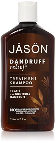 Jason Natural Products Shampoing, pellicules relief, 12 FZ - Pack of 2