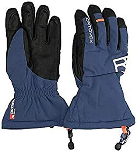 ORTOVOX Herren Swisswoll Freeride Handschuhe, Night Blue, XL
