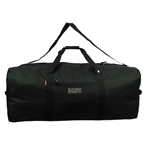 K-Cliffs Heavy Duty Cargo Duffel Large Sport Gear Equipment Travel Bag Rooftop Rack Bag By Praise Start