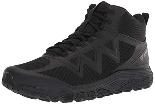 Bates Men's Rush Mid Military and Tactical Boot, Black, 10.5