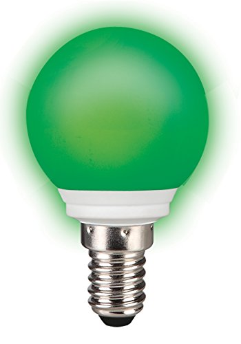 Sylvania LED-Lampe0,5 Watt 230 VoltE14 grün in TROPFENFORM für Dekozwecke für innen und außen