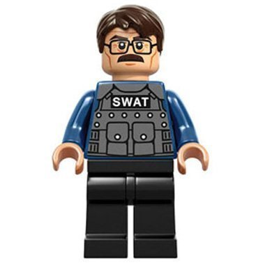 LEGO Superheroes: COMMISSIONER GORDON Mini-Figurine (DC BATMAN)
