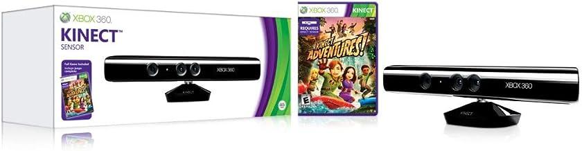 Microsoft Kinect Sensor With Kinect Adventures Game for Xbox 360