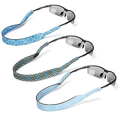 Amazon - 70% Off on 3 Pack Neoprene Glasses and Sunglasses Strap, Anti Slip Sport Eyewear