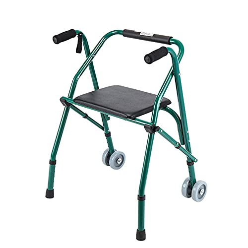 AYLYHD Andador para Ancianos,Andadores para Adultos, Ligero Silla de Baño con Asiento...