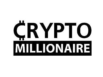 Makarios Crypto Millionaire MKR Decal Vinyl Sticker  Cars Trucks Vans Walls Laptop Black 7.4 x 3.3 in MKR1899