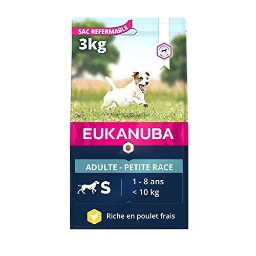 EUKANUBA - Croquettes pour Chien de Petite Race - 100%...