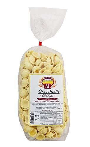 Frische Orecchiette Nudeln aus Italien 500g - Original Orecchiette Pasta - trafila in bronzo -...
