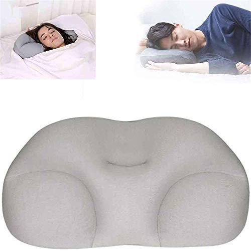 LZZZWER Neues schnelles Schlafkissen, rundum ästhetisches Wolkenschlafkissen mit Kühlung für Memory Foam Butterfly-förmiges ergonomisches Kissen