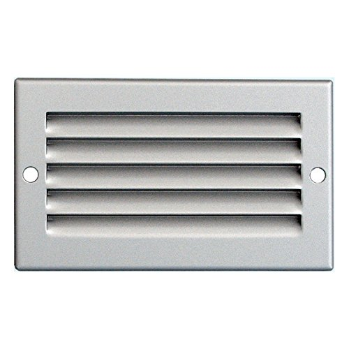 - Grille de ventilation métallique - Grille ventilation métal 100x60mm - Couleur inox