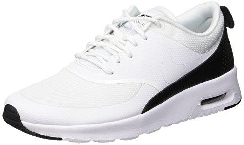 Nike Damen Sneaker Air Max Thea Laufschuhe, Weiß (White/White-Black 111), 38 EU