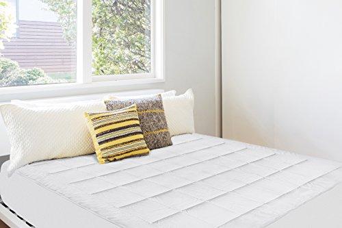 Dormire super imbottito matrimoniale materasso Pad–ultra morbido peluche con micro pile