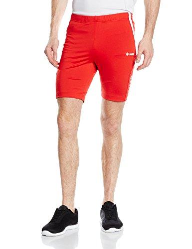 JAKO Short Tight athlético, Homme, Shorts Tight Athletico, Rouge/Blanc