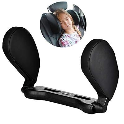 ❤Almohada ajustable para el cuello:El ancho entre las dos almohadas para la cabeza se puede ajustar, y la almohadilla también se puede subir, bajar y girar 180 °. Si no los necesita, simplemente levántelos para ahorrar espacio dentro del automóvil ❤ ...