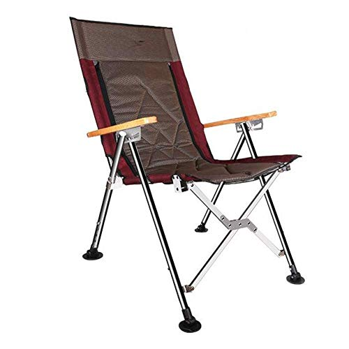 LHQ-HQ Pesca Silla Silla Plegable Engranaje heces portátil con los Brazos for la Playa Camping al Aire Libre Ocio (Tamaño: 86 * 25 * 15 cm)