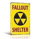 不适用 Fallout SHELTER Sign Metal DÉCOR Man CAVE Boys Room