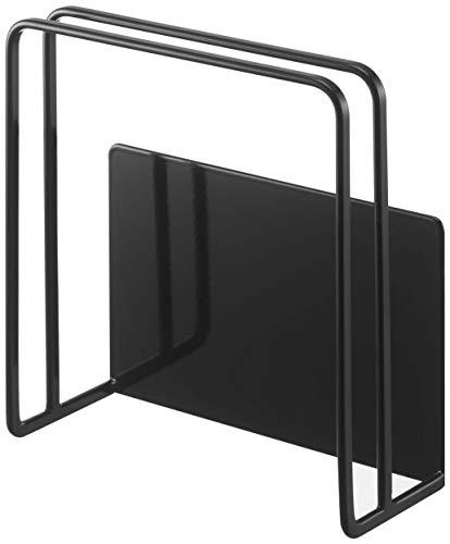 山崎実業(Yamazaki)マグネットまな板スタンドブラック約W13.5XD5.5XH14cmタワー浮かせる収納簡単取り付け5139