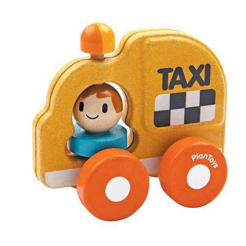 PlanToys- Taxi de Juguete (5619)
