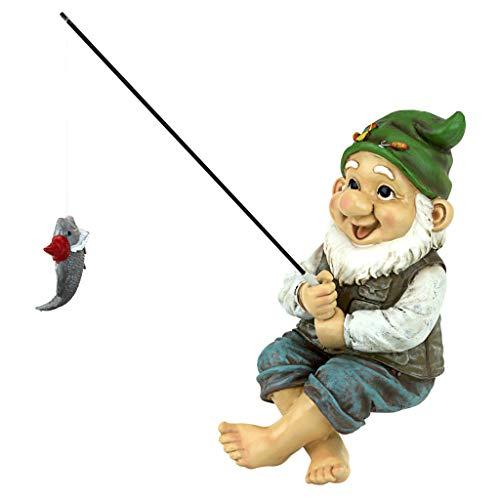 Ziggy the Fishing Gnome Sitter
