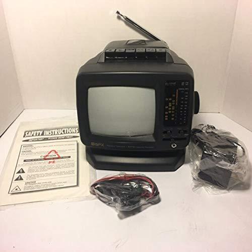 GPX TVP9 AM/FM/Cassette TV