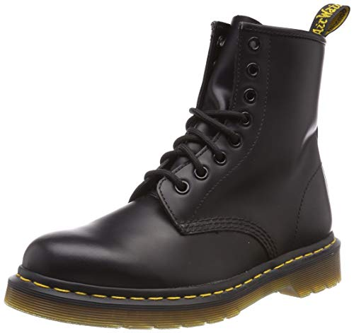 Dr. Martens 8-Loch Boot 1460, Scarpe Donna, Nero, 45 EU 10 UK
