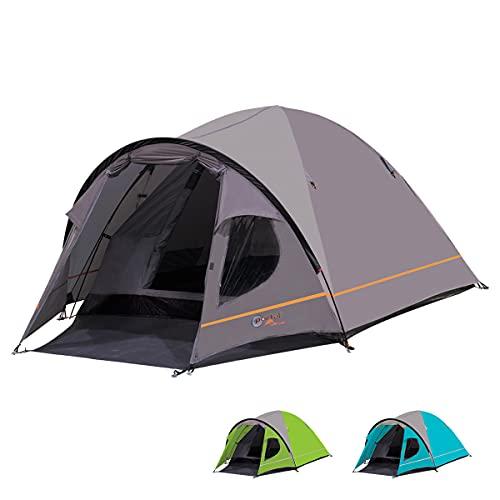 Portal Outdoor Bravo 3 Man Camping Tent Waterproof Windproof Two Doors Lightweight Backpacking Tent...