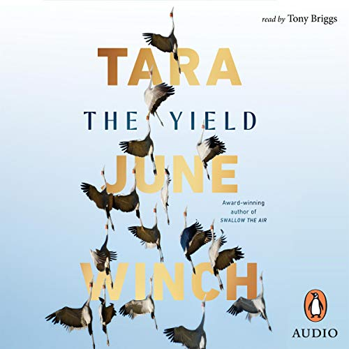 The Yield audiobook cover art