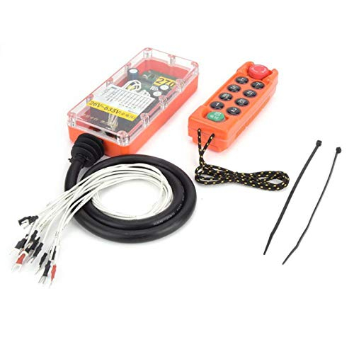 1 émetteur télécommande industrielle commutateurs contrôleur grue grue télécommande pour montagnes russes pour camions pompe à béton(26-635V)