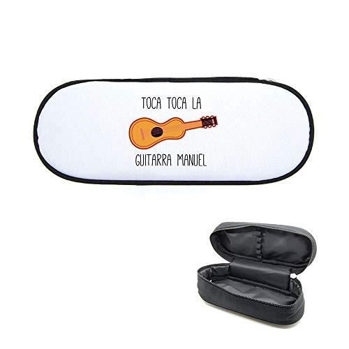 Caja de lápices imprimido toca toca guitarra Manual
