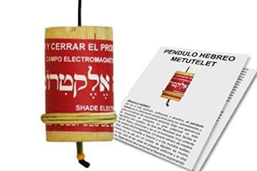 PENDULO HEBREO con manual y 35 etiquetas de crecimiento personal