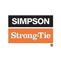 """シンプソンStrong Tie # BP 5/ 8-west 5/ 8""""軸受プレート"""