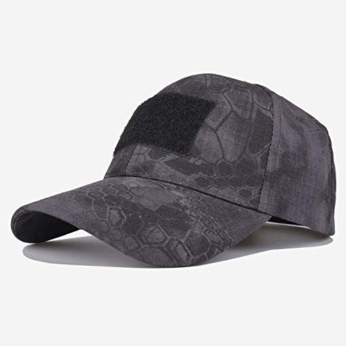 迷彩 帽子 タクティカルキャップ 野球帽 サバゲー ツバ広 帽 ベースボール キャップ タイフン