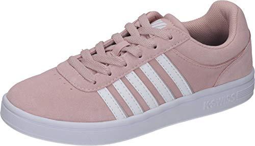 K-Swiss Damen Court CHESWICK SPSDE Sneaker, Pink (Pearl/Wt/Slvrclou 639), 40 EU