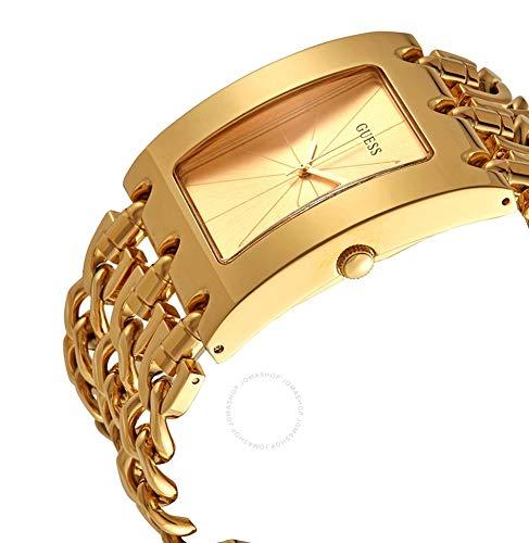 GUESS Reloj Analógico para Mujer de Cuarzo con Correa en Acero Inoxidable