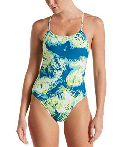 Nike Solar Canopy Cut-Out One Piece Green Abyss 30