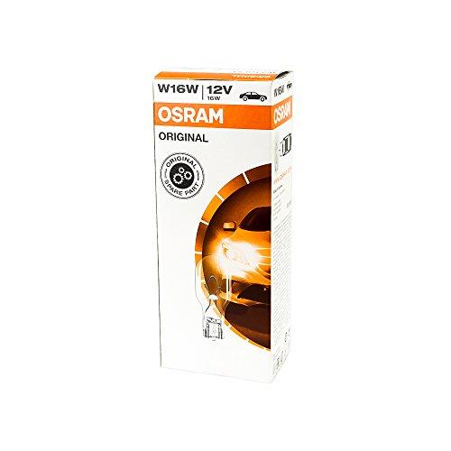 10x OSRAM GLÜHBIRNEN 12V 16W W2.1x9.5d BLINKER BLINKLEUCHTE BREMSLICHT