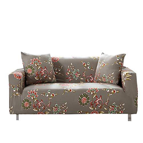 Yunchengyunxiangtong Stretch Couch Cover All-Inclusive-Universal-Four Seasons Universal-Anti-Rutsch-Sofa-Abdeckung Handtuch gedruckt Stretch Sofa (Size : Triple)